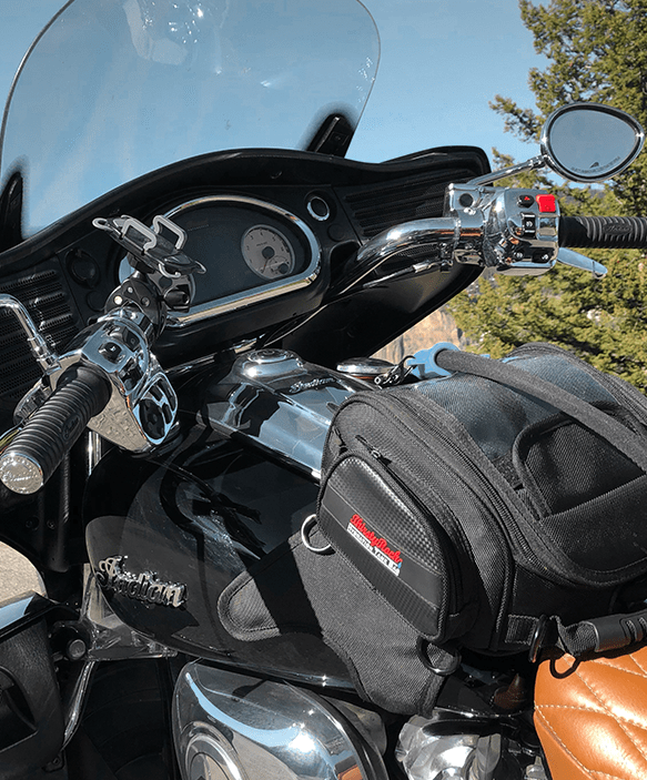 motorcycle with ThirstyRock