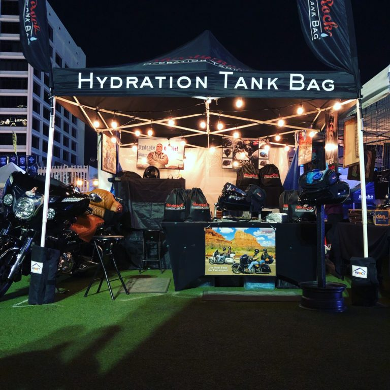 ThirstyRock product tent